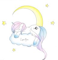 Cupid Moon: Sleepy Time by iiKiui
