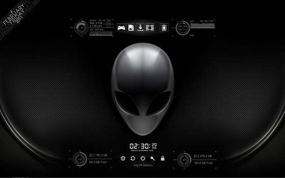 Playing with Rainmeter v3 by MstrNonsense