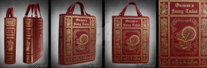 Grimm's Fairy Tales Book Bag by Euflonica
