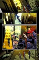 Shy page by johnnymorbius