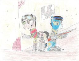 Equestrian Elite Force in Action by BrogarArts