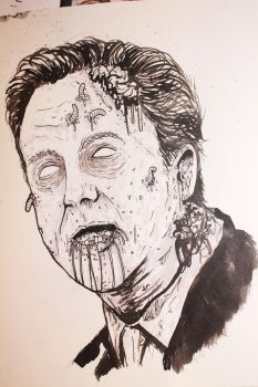Zombie David Cameron by ReVerbaration