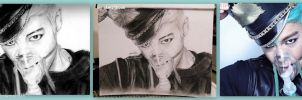 bigbang TOP by like2draw001