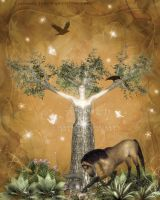 Celtic Tree Of Life by pixievamp