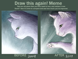 Draw this again Cat'04 by Toivoshi