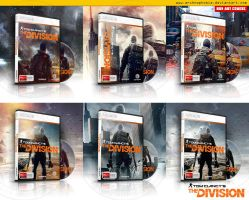 The Division Box Art Covers by archnophobia