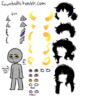 Fantroll Sprite Base by SecretMonsters