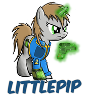 Little Pip by drawponies