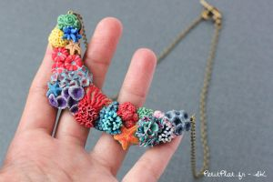Miniature Corals Jewelry - Necklace by PetitPlat