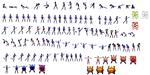 Kitana Sprite sheet -modified- by Darkburster1