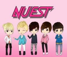 NU'EST by Shortiepower