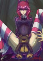 League_of_Legends - Annie by DeathKLovC
