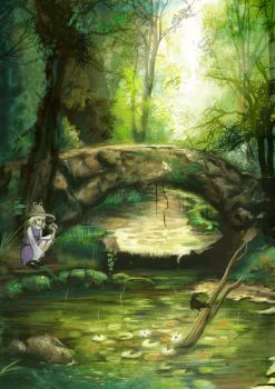 Forest - Suwako version by AutomneBlue