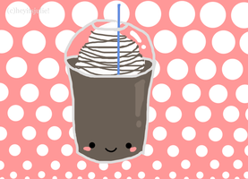 kawaii mocha frappichino. by heyitsjulie