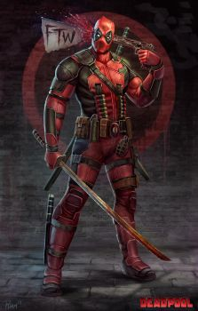 Deadpool FTW by PTimm