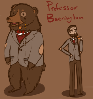 Professor Baerington by Beck-illy