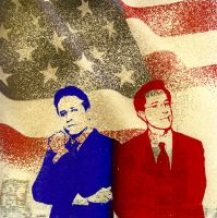 Mr. Stewart and Mr. Colbert by bananerehe