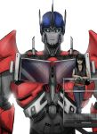 Optimus and Joanne by SoulRobot
