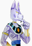 Lord Beerus by givemeallyourpoison3