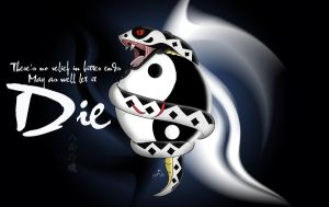 Ying and Yang Snake by Adder24