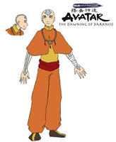 A:DoD, 30's Aang by Avatar-The-DoD