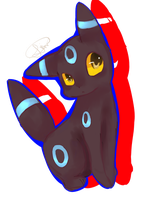 Request: Shiny Umbreon by SachiLin