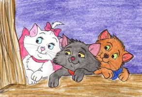 The Aristokittens by greydeer2010