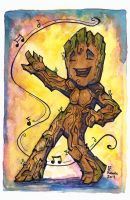 I am GROOT! by CorinneRoberts