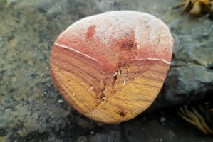 Pebble Found On Beach by merearthling