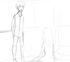 WIP : Are you really there? by Foreveryoung8