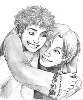 Couples - Lupin and Tonks by jameson9101322
