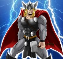 God of Thunder by bocodamondo