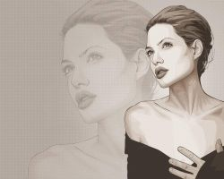 Angelina Jolie Wallpaper by verucasalt82