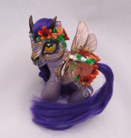My little pony custom Dia de Muertos Citlali by AmbarJulieta