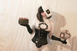 GLaDOS Gijinka Cosplay by SoraTheDemon