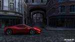 Ferrari 458, early morning in London by Tom2099