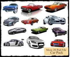 Psd car pack 1 by SanchezCreative