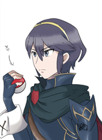 You are challenged by Trainer Marth! by miss-aria