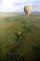 Ballooning over the Serengeti by ScurvySimon