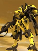 Yellow Mecha Update1 by covenan