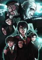 Harry Potter by theharmine