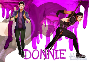 Human Ninja Turtles: Donnie by IsaiahStephens