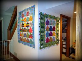 Quilt Hang 1 6-30-13 by wiccanwitchiepoo