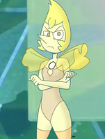 Steven Universe - Yellow Pearl 01 by theEyZmaster