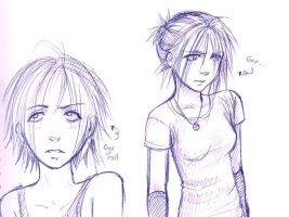 Different facets of Aryn by DanieruLumiere