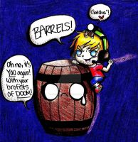 Barrels, Slenderman, and Pewds -CV- by MacaroniChick