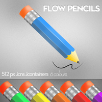 Flow Pencils by manuee