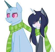 Just take the Scarf -|Collab|- by CookieFoxButt