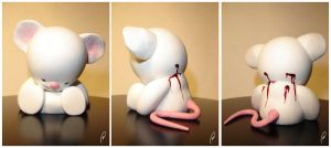 Dead Mouse - Munny Accessory by Flame-Ivy