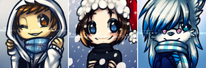 Winter Icon Batch 1 by miulk